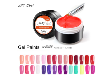 Nou!!! Color Gel Soak Off UV & LED Nail Art AMV