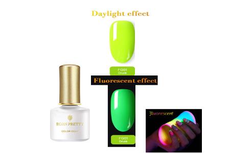 Oja Semi Fluorescenta Soak Off Born Pretty